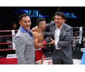 昆仑决闫西波6秒KO日本选手 掌门人姜华:干得漂亮!