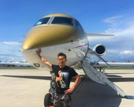 价值5000万美元的湾流g550商务飞机